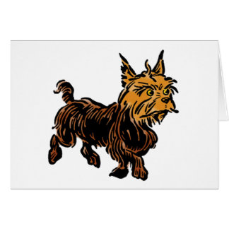 Vintage Wizard of Oz, Toto the Cute Puppy Dog Card