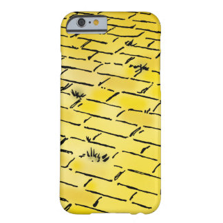Vintage Wizard of Oz Yellow Brick Road by Denslow Barely There iPhone 6 Case