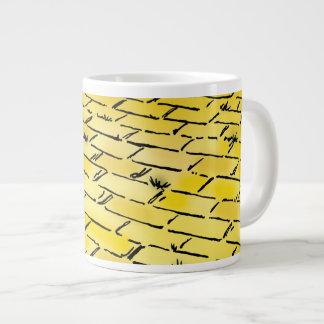 Vintage Wizard of Oz Yellow Brick Road by Denslow Giant Coffee Mug
