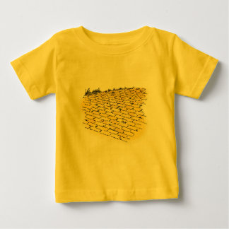 Vintage Wizard of Oz Yellow Brick Road by Denslow T-shirts