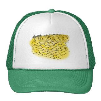 Vintage Wizard of Oz Yellow Brick Road by Denslow Trucker Hat