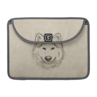 Vintage Wolf MacBook Pro Sleeve