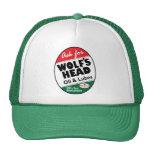 Vintage Wolfs Head sign Hat