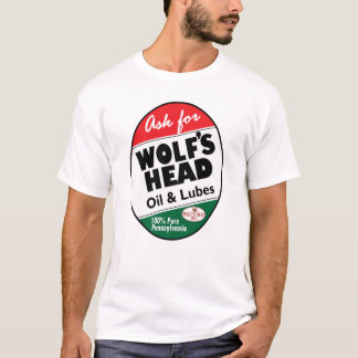 Vintage Wolfs Head sign T-Shirt