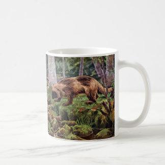 Vintage Wolverine Illustration Coffee Mug