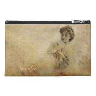 Vintage Woman Actress Portrait from 1900s Travel Accessory Bags