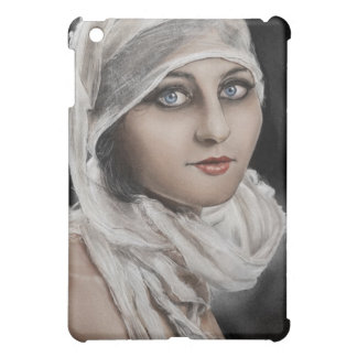 Vintage Woman and Bandages painting case iPad Mini Covers