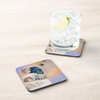 Vintage Woman And Child Coaster