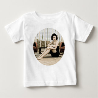 Vintage Woman Baby T-Shirt