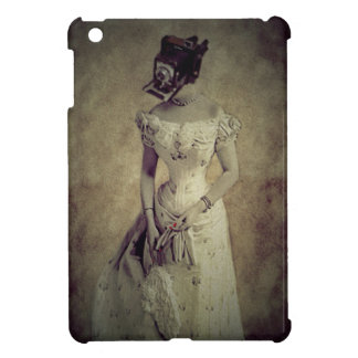 Vintage Woman Camera Art Decor iPad Mini Cases