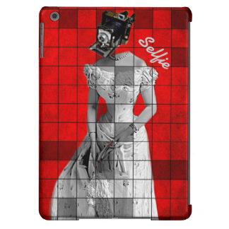 Vintage Woman Camera Red iPad Air Case