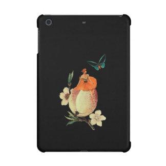 Vintage Woman Flower Dark Grunge iPad Mini Covers