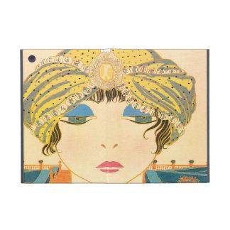 Vintage Woman in Turban iPad Mini Case