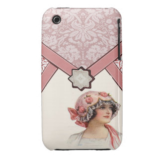 Vintage Woman iPhone 3 Cover