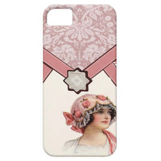 Vintage Woman iPhone SE/5/5s Case