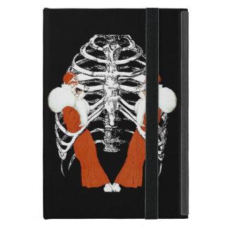 Vintage Woman Lips Ribcage Grunge iPad Mini Case