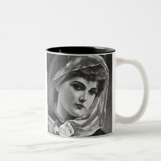 Vintage Woman Mug #2