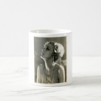 Vintage Woman Portrait Coffee Mug
