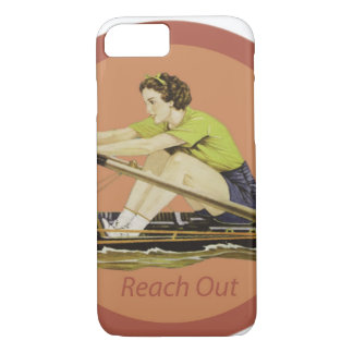 Vintage Woman Rower iPhone 8/7 Case