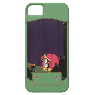 Vintage Woman Theater Audience Stage Burton Rice iPhone SE/5/5s Case