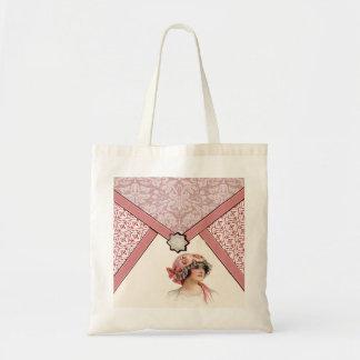Vintage Woman Tote Bag