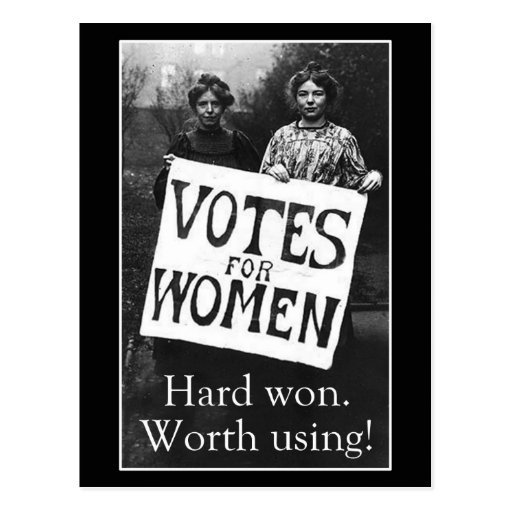 Vintage Women Vote Postcard