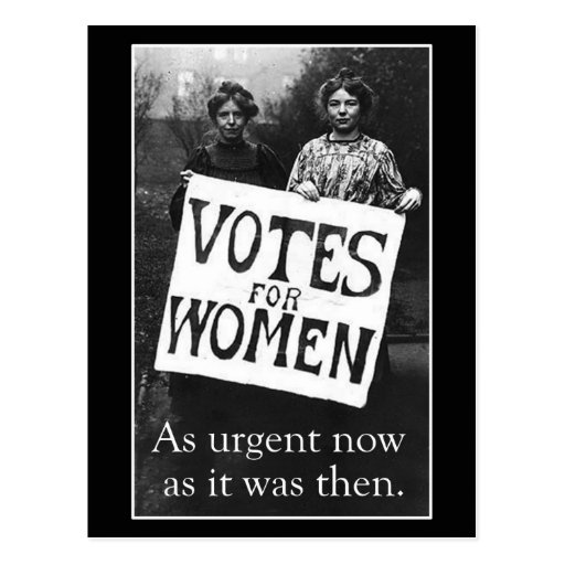 Vintage Women Vote Postcard 2