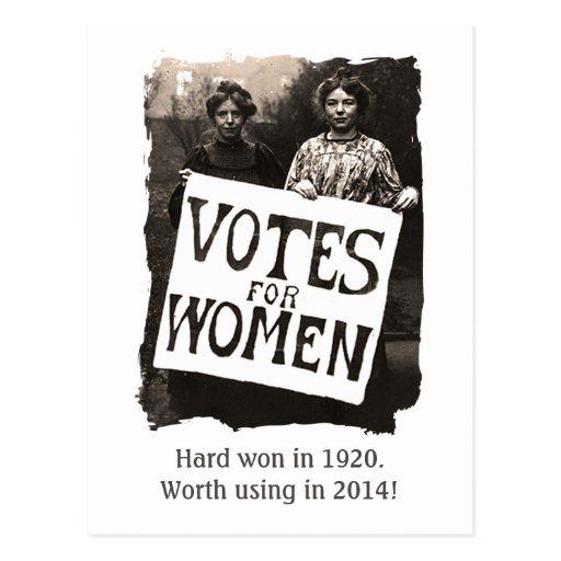 Vintage Women Vote Postcard 3