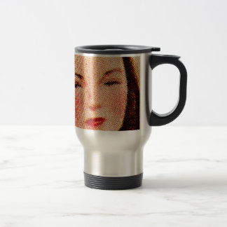 Vintage Women Woman 40s Catalog Art 'Dotty' Mugs