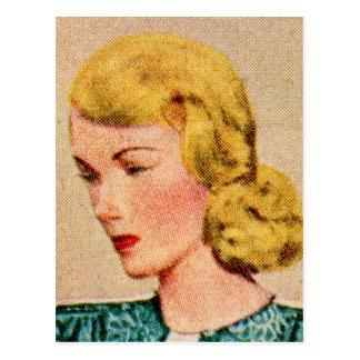 Vintage Women Woman 40s Catalog Art Mavis Postcards