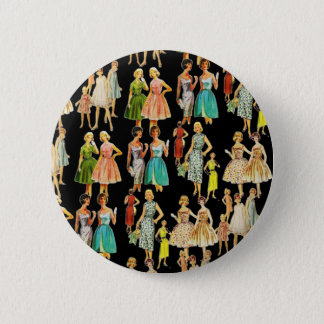 Vintage Women's Fashion Button