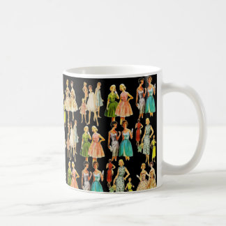 Vintage Women's Fashion Coffee Mug
