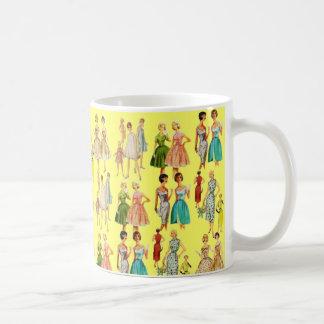 Vintage Women's Fashion Coffee Mug