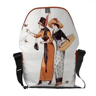 Vintage Women's Fashion Earth Tone Messenger Bag