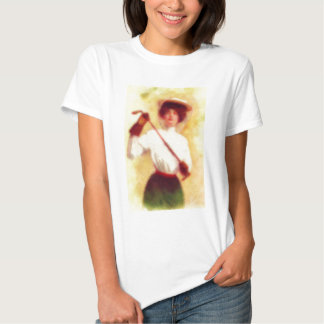 Vintage Women's Golf Fashion Shirt
