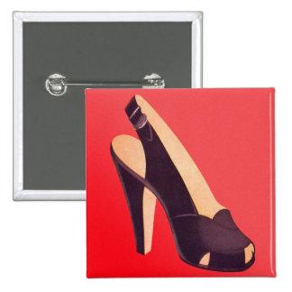 Vintage Women's High Heels Shoe Pin