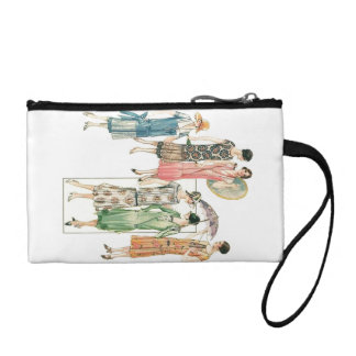 Vintage Women's Retro Style Dress Lady Fashions Coin Wallet
