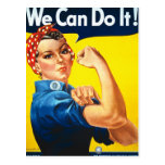 Vintage Womens Rights Ad Postcard