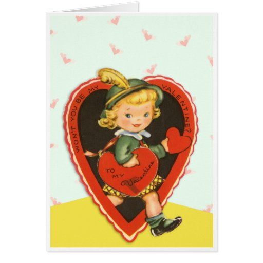 Vintage Won't You Be ... Greeting Card