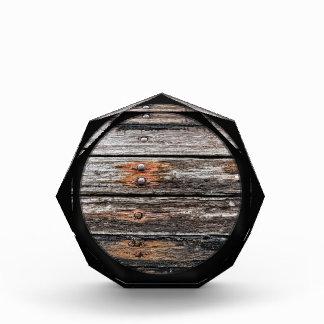 Vintage wood award
