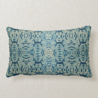 Vintage Wood Cyanotype Pillow Lumbar 1