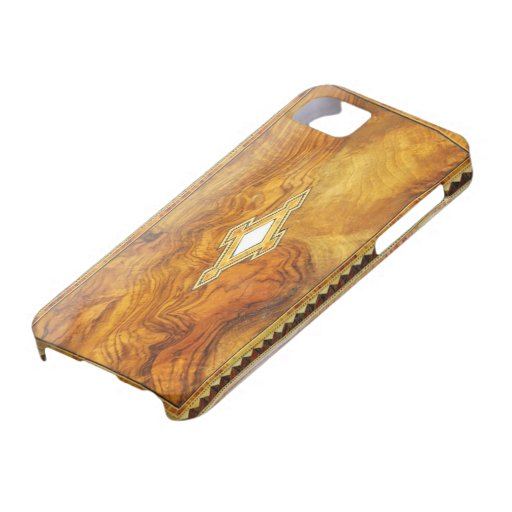 vintage wood iphone 5 case
