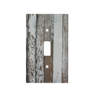 Vintage Wood Planks (Faux) Light Switch Cover