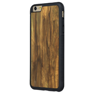 Vintage Wood Print Carved® Wood Bumper Carved Maple iPhone 6 Plus Bumper Case