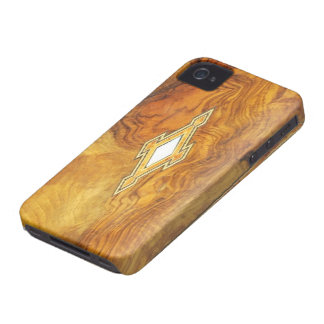 vintage wood style  i phone iPhone 4 cover