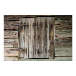 Vintage wood wall backdrop poster
