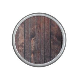 Vintage wood wall texture speaker