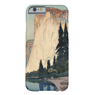 Vintage Woodblock Art El Capitan Yosemite Park Barely There iPhone 6 Case