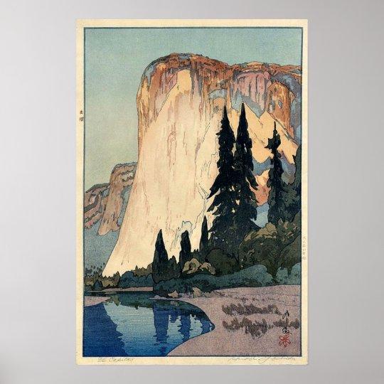 Yosemite Retro Poster El Capitan
