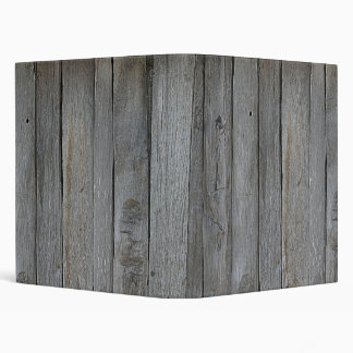 Vintage Wooden Fence Binder